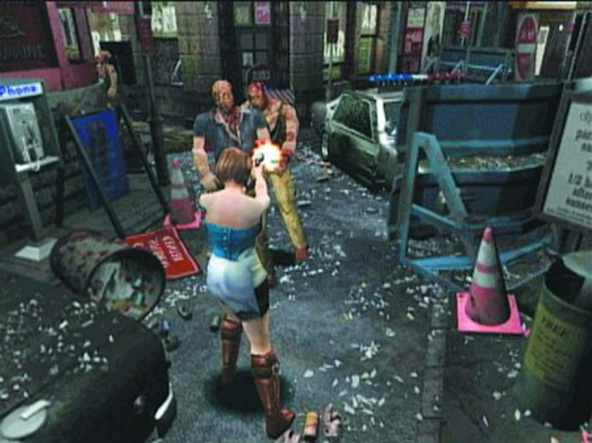 resident evil 3 nemesis ps1 gameplay